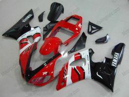 Yamaha YZF-R1 1998-1999 Carénage ABS Injection - autres - rouge/noir