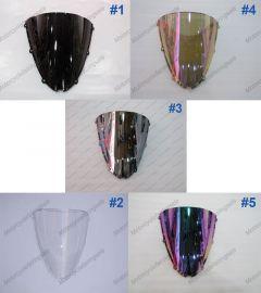 5 x couleur Kawasaki NINJA ZX6R 2005-2008 pare brise