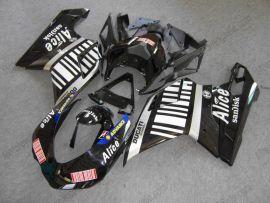 Ducati 848 / 1098 / 1198 2007-2009 Carénage ABS Injection - Alice - noir/blanc