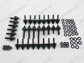 Carénage Boulons Pour Suzuki GSX-R 600 - 2001-2003 - noir