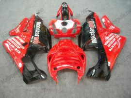 Ducati 749 / 999 2005-2006 Carénage ABS Injection - Monstermob - rouge/blanc