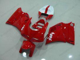 Ducati 748 / 998 / 996 Carénage ABS Injection - autres - tout rouge