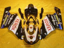 Ducati 749 / 999 2003-2004 Carénage ABS Injection - Xerox - noir/blanc