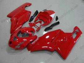 Ducati 749 / 999 2003-2004 Carénage ABS Injection - autres - tout rouge
