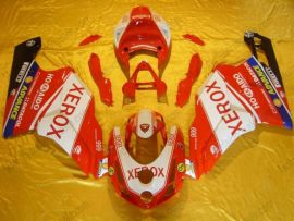 Ducati 749 / 999 2003-2004 Carénage ABS Injection - Xerox - blanc/rouge