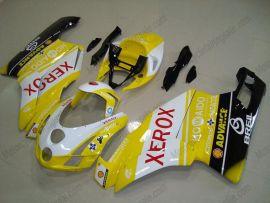 Ducati 749 / 999 2003-2004 Carénage ABS Injection - Xerox - jaune/noir/blanc