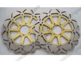 Ducati 748 916 996 998 BIPOSTO disque frein avant du rotor - doré