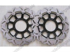 Honda CBR1000RR VTR1000 SP1 SP2 RC51 2000-2007 disque frein avant du rotor - noir