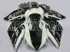 Kawasaki NINJA ZX14R 2012-2019 Carénage ABS Injection - autres - noir / blanc