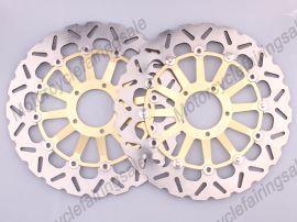Ducati 1098 1198 2007-2011 disque frein avant du rotor - doré