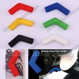 6 couleurs universel moto pied cuir couvercle