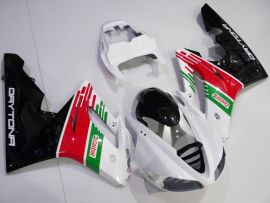 Triumph Daytona 675 2009-2012 Injection  ABS Fairing - Other - White/Black