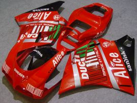 Ducati 748 / 998 / 996 Carénage ABS Injection - Alice - rouge
