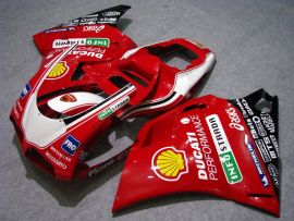 Ducati 748 / 998 / 996 Carénage ABS Injection - INFOSTRADA - rouge
