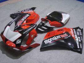 Ducati 748 / 998 / 996 Carénage ABS Injection - Monstermob - noir/rouge/blanc