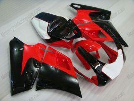 Ducati 748 / 998 / 996 Carénage ABS Injection - autres - noir/rouge/blanc