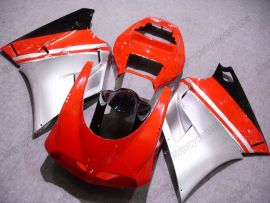 Ducati 748 / 998 / 996 Carénage ABS Injection - autres - rouge/argent/noir