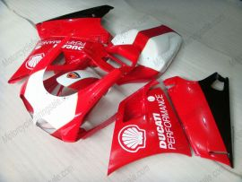 Ducati 748 / 998 / 996 Carénage ABS Injection - Performance - rouge/blanc