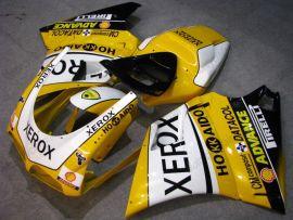Ducati 748 / 998 / 996 Carénage ABS Injection - Xerox - jaune/blanc