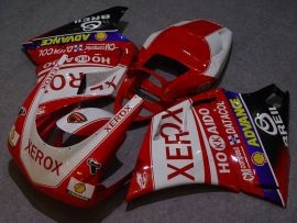 Ducati 748 / 998 / 996 Carénage ABS Injection - Xerox - rouge/blanc