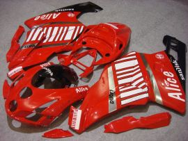 Ducati 749 / 999 2003-2004 Carénage ABS Injection - Alice - rouge/blanc