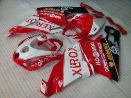 Ducati 749 / 999 2003-2004 Carénage ABS Injection - Xerox - rouge/blanc