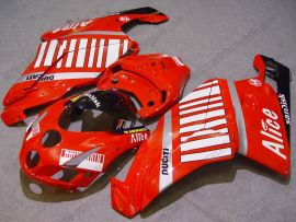 Ducati 749 / 999 2005-2006 Carénage ABS Injection - Alice - rouge/blanc