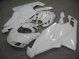 Ducati 749 / 999 2005-2006 Carénage ABS Injection - Factory Style - tout blanc