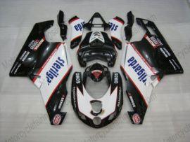 Ducati 749 / 999 2005-2006 Carénage ABS Injection - Sterilgarda - noir/blanc