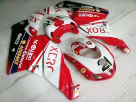 Ducati 749 / 999 2005-2006 Carénage ABS Injection - Xerox - rouge/blanc
