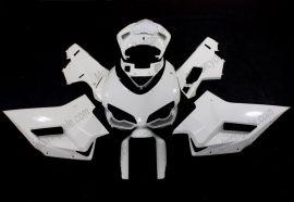Ducati 848 / 1098 / 1198 2007-2009 Carénage ABS Non peint Injection - blanc