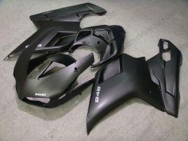 Ducati 848 / 1098 / 1198 2007-2009 Carénage ABS Injection - Factory Style - tout noir