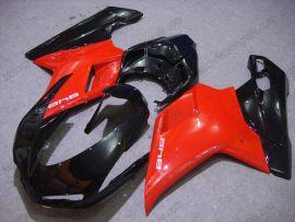 Ducati 848 / 1098 / 1198 2007-2009 Carénage ABS Injection - autres - rouge/noir