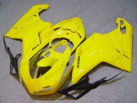 Ducati 848 / 1098 / 1198 2007-2009 Carénage ABS Injection - autres - jaune