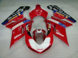 Ducati 848 / 1098 / 1198 2007-2009 Carénage ABS Injection - Performance - rouge/blanc