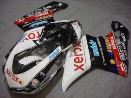 Ducati 848 / 1098 / 1198 2007-2009 Carénage ABS Injection - Xerox - blanc/noir