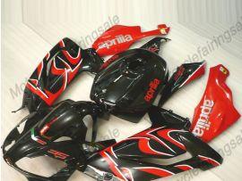 Aprilia RS125 2006-2011 Carénage ABS - autres - noir/rouge