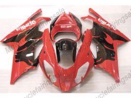 Aprilia RSV1000R 2004-2006 Carénage ABS Injection - autres - noir/rouge