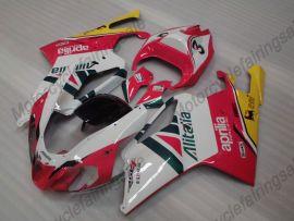 Aprilia RSV1000R 2004-2006 Carénage ABS Injection - autres - blanc/rouge