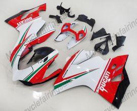 Ducati 1199 Panigale 2012-2014 Carénage ABS Injection - autres - rouge/blanc