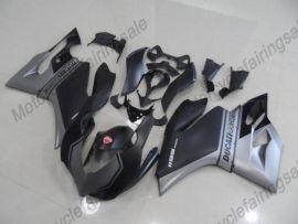 Ducati 1199 Panigale 2012-2014 Carénage ABS Injection - autres - gris/argent