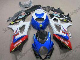 Suzuki GSX-R 1000 2007-2008 K7 Carénage ABS Injection - Rockstar - bleu/blanc