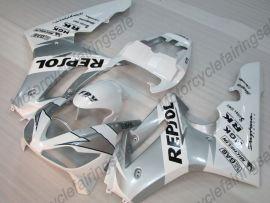 Triumph Daytona 675 2006-2008 Carénage ABS Injection - Repsol - blanc/argent