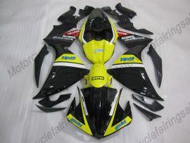 Yamaha YZF-R1 2009-2011 Carénage ABS Injection - MOTUL - noir/jaune