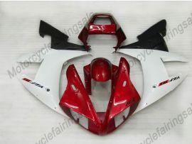 Yamaha YZF-R1 2002-2003 Carenage ABS Injection - autres - blanc/rouge/noir