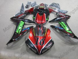Yamaha YZF-R1 2004-2006 Carénage ABS Injection - Flame rouge - noir/rouge