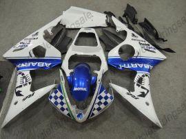 Yamaha YZF-R1 2004-2006 Carénage ABS Injection - MOUTUL - bleu/blanc