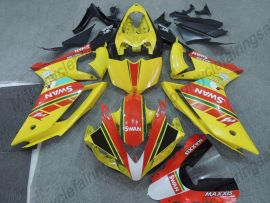 Yamaha YZF-R1 2007-2008 Carénage ABS Injection - MAXXIS - jaune/rouge