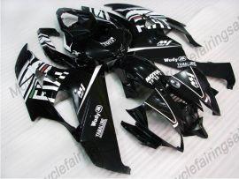 Yamaha YZF-R6 2006-2007 Carénage ABS Injection - FIAT - noir