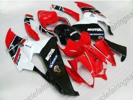 Yamaha YZF-R6 2006-2007 Carénage ABS Injection - Motul - rouge/blanc/noir